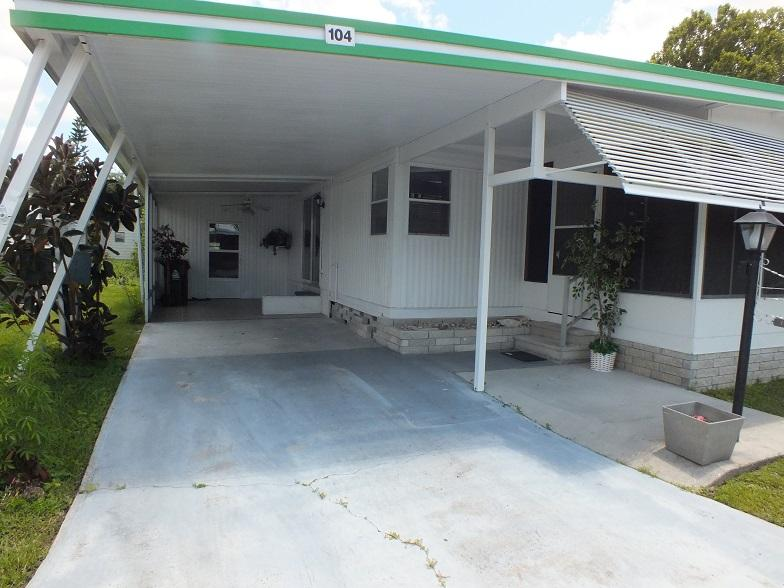 Lot 104 Carport/SunRoom